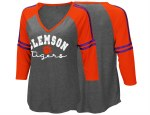 Clemson Tigers Ladies 3/4 Sleeve Tee SMALL