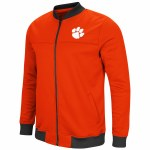 Clemson Tigers Full Zip Bomber Jacket MEDIUM