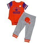 Clemson Tigers Infant Boys Onesie Set 3-6