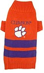 Clemson Tigers Dog Sweater XS