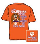 Clemson Tigers Nightmare T-Shirt SM