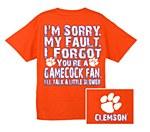 Clemson Tigers I Forgot T-Shirt SM