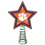 Clemson Tigers Mosaic Tree Topper