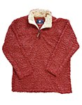 Crimson Sherpa Pullover Fleece X-LARGE