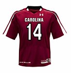 South Carolina Gamecocks #14 Shaw 2012 Jersey GARN 2X