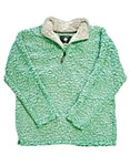 Lime Sherpa Pullover Fleece XXL