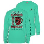 Simply Southern Repeat Long Sleeve T-Shirt XXL