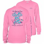 Simply Southern Scrubs Long Sleeve T-Shirt SMALL
