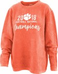 Clemson Tigers 2018 National Champs Comfy Cord X-SMALL
