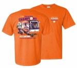 Clemson Tigers 2018 National Champs Natty Bus T-Shirt SMALL