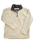 Oatmeal Sherpa Pullover Fleece X-LARGE