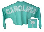 Palmetto Spirit Jersey Crop on MINT XS