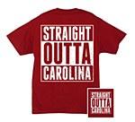 South Carolina Gamecocks Straight Outta T-Shirt YS