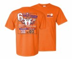 Clemson Tigers 6 In Row Score T-Shirt SMALL