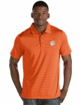 Clemson Tigers Men's Striped Polo SMALL
