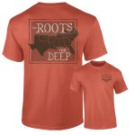 Rugged South Our Roots Run Deep T-Shirt SMALL