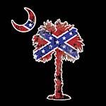 Palmetto Dixie Decal