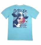 Southern Fried Cotton Cow Lick T-Shirt SMALL