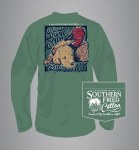 Southern Fried Cotton Dog Tired Long Sleeve 2XL