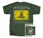 Southern Strut Gadsden Flag T-Shirt MEDIUM