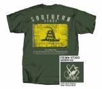 Southern Strut Gadsden Flag T-Shirt MEDIUM