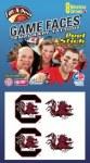 South Carolina Gamecocks Face Tattoos
