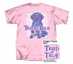 Tried & True Puppy T-Shirt SMALL