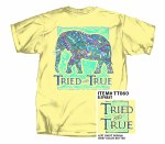 Tried & True Elephant T-Shirt SMALL