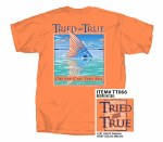 Tried & True Redfish Tail T-Shirt MEDIUM