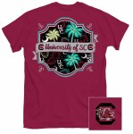 South Carolina Gamecocks Pattern T-Shirt SMALL