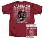 South Carolina Gamecocks Our Team Our Dream T-Shirt SMALL