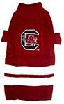 South Carolina Gamecocks Dog Sweater XS