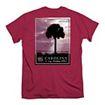 South Carolina Gamecocks Happy Place T-Shirt SMALL