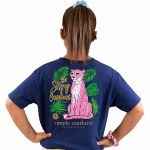Simply Southern Cheetah T-Shirt Youth SMALL