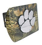 Clemson Tigers CAMO Metal Hitch Cover