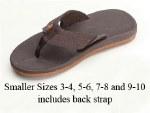 Rainbow Sandals Kids Cape DK BRN 5-6