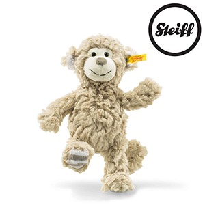 Steiff Soft Cuddly Friends Bingo monkey, beige 20cm.