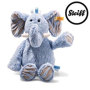 Steiff Soft Cuddly Friends Earz Elephant Blue 39cm