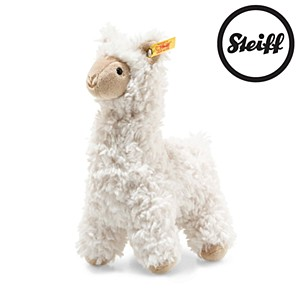 Steiff Soft Cuddly Friends Leandro Llama, Cream 19cm