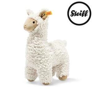 Steiff Soft Cuddly Friends Leandro Llama, Cream 29cm