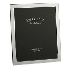 "Silverplated Flat Photo Frame - 8"" x 10"""