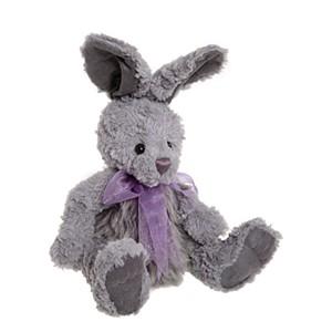 Charlie Bear JUMP Rabbit Grey - Summer Meadow Collection (Plush)