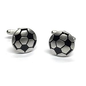 Cufflink Pair - Football