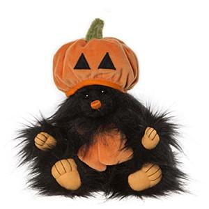 Charlie Bear JACK-O-LANTERN (Halloween Pumpkin)