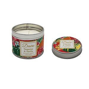 Desire Tropical Candle Tin Tangerine Vanilla