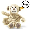 Steiff Soft Cuddly Friends Bingo Monkey Beige 16cm