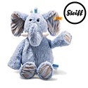 Steiff Soft Cuddly Friends Earz Elephant Blue 39cm