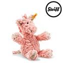 Steiff Soft Cuddly Friends Giselle giraffe, pale pink 20cm.