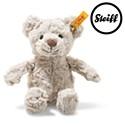 Steiff Soft Cuddly Friends Honey Teddy Bear Light Grey 16cm