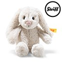 Steiff Soft Cuddly Friends Hoppie Rabbit Light Grey 16cm